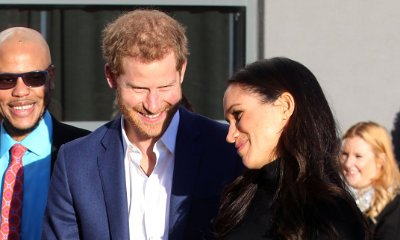 Prince Harry and Meghan Markle Are All Smiles in First Joint Royal Event in Nottingham