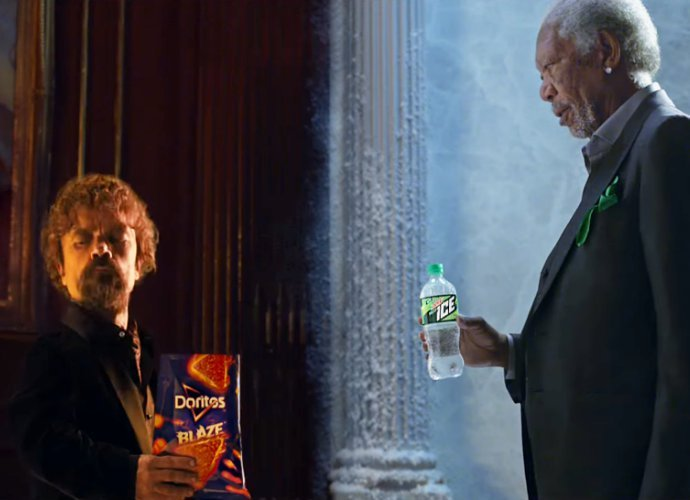 Morgan Freeman and Peter Dinklage Engage in Intense Rap Battle in Hilarious Super Bowl Ad