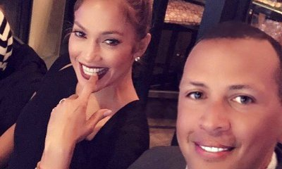 Alex Rodriguez Gets Handsy With Jennifer Lopez While Jewelry Shopping on Valentine's Day