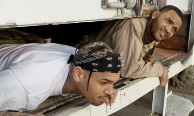 Chris Brown and Joyner Lucas Host Party in Pest Control Truck in 'Stranger Things' Music Video