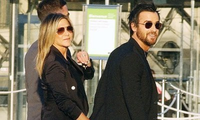 Jennifer Aniston and Justin Theroux Met Up on Valentine's Day Before Split Announcement