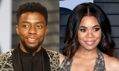 New Couple Alert? Chadwick Boseman and Regina Hall Spotted Leaving Party Together