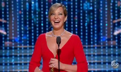 Oscars 2018: 'I, Tonya' Star Allison Janney Takes Home Supporting Actress Trophy