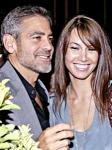 George Clooney and Girlfriend Sarah Larson Injured in Motorcycle Accident