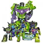 Possible Construction Vehicles for Devastator in