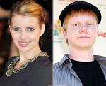 Emma Roberts and Adam Hicks Visit