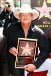 In Pic: Alan Jackson Receiving His Hollywood Star