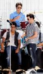 Pictures: Jonas Brothers Performing in California for