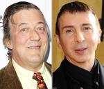 Stephen Fry and Marc Almond Pay Tribute to Sebastian Horsley at Funeral