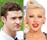 Justin Timberlake and Christina Aguilera Head to Las Vegas for Charity Concert