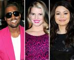 Kanye West, Jessica Simpson and Miranda Cosgrove Lined Up for Macy