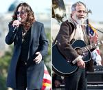 Ozzy Osbourne and Yusuf Islam Treat Protesters With Surprise Show