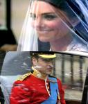 Royal Wedding Coverage: Kate Middleton Radiant in Lace Gown
