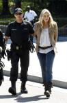 Daryl Hannah All Smiles When Arrested for Protesting in Front of White House