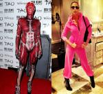 Heidi Klum Transforms Into a Dead Body, Nicole Richie Channels J.Lo for Halloween