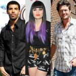 Drake, Jessie J and Blake Shelton to Ring In New Year's Eve With Carson Daly