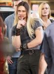 Jim Carrey Is Long-Haired Street Magician on 'Burt Wonderstone' Set