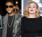 Usher Afraid Adele Might Break His Record