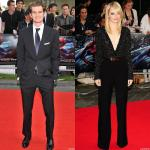 Andrew Garfield and Emma Stone Dazzling in Black at 'Amazing Spider-Man' U.K. Premiere