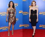Jada Pinkett Smith and Jessica Chastain Keep It Classy at 'Madagascar 3' N.Y. Premiere