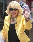 Joan Rivers Handcuffs Herself in Protest Against Costco