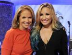 Katie Couric and Demi Lovato Share Eating-Disorder Issues