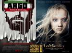 Golden Globes 2013: 'Argo' and 'Les Miserables' Dominate Full Winner List in Movie