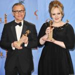 Golden Globes 2013: Christoph Waltz and Adele Are Early Winners in Movie