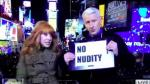 Video: Kathy Griffin Tries to Kiss Anderson Cooper