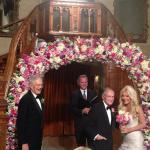Newlyweds Hugh Hefner and Crystal Harris Share Wedding Picture