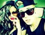 Justin Bieber Poses With Selena Gomez, Labels the Pic