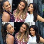 Ciara Joined by Kim Kardashian and LaLa Anthony at Baby Shower