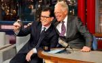 Video: David Letterman Welcomes Successor Stephen Colbert on