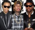 Wiz Khalifa Enlists Tyga and Ty Dolla $ign for 2014