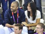 Tony Parker's Fiancee Axelle Francine Gave Birth to Baby Boy