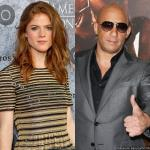 'Game of Thrones' Star Rose Leslie Joins Vin Diesel in 'The Last Witch Hunter'