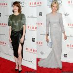 Emma Stone and Naomi Watts Glam Up at 'Birdman' NYFF Premiere