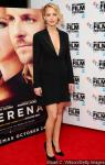 Jennifer Lawrence Shows Major Cleavage at 'Serena' London Premiere