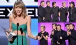American Music Awards 2014: Taylor Swift Wins First Dick Clark Award, 1D Dominates Winners List