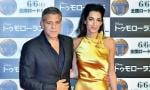 Amal Clooney's Shiny Gown Steals the Show at 'Tomorrowland' Premiere in Tokyo