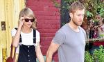 Taylor Swift and Calvin Harris Hold Hands During Lunch Date in NYC