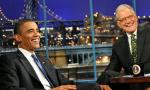 Video: President Obama Comes to 'Late Show' to Say Goodbye to David Letterman