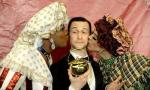 Joseph Gordon-Levitt Drops His Pants During Hasty Pudding Induction