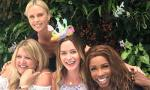 Charlize Theron Hosts Baby Shower for Pal Emily Blunt