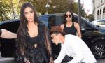 Video: Kim Kardashian Ambushed by Gigi Hadid's Attacker in Paris
