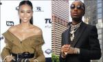 Karrueche Tran Hangs Out With Quavo at Migos' Concert Amid Dating Rumors