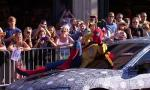 Watch Spider-Man Make Quite an Entrance at 'Spider-Man: Homecoming' Premiere