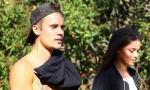 New Romance? Shirtless Justin Bieber Enjoys Romantic Hike With This Model