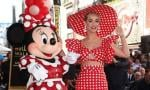 Katy Perry Helps Minnie Mouse Celebrate Her Walk of Fame Star Honor
