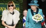 Anna Wintour Blasted for Keeping Her Sunglasses On While Seated Next to Queen Elizabeth at LFW